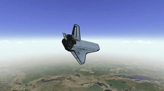 F Sim Space Shuttle